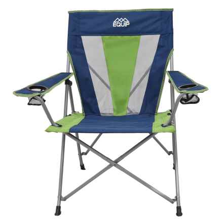 Equip Summit Pro Chair in Nitava Blue/Moss Green - Closeouts