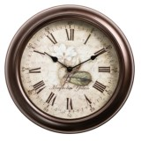 "Equity by La Crosse Technology 12"" Metal Wall Clock"