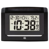 Equity by La Crosse Technology Hybrid Solar Atomic Wall Clock