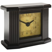 Equity by La Crosse Technology Wooden Mantel Clock in Dark - Closeouts