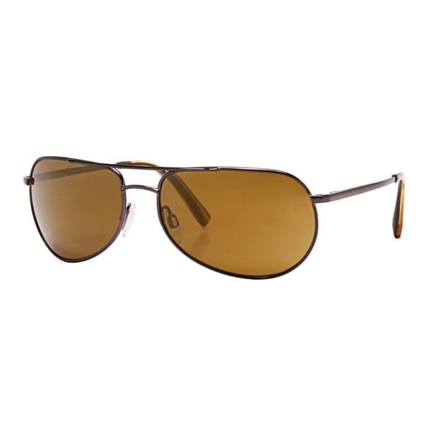 Reptile Sipedon Sunglasses - Polarized Glass Lenses