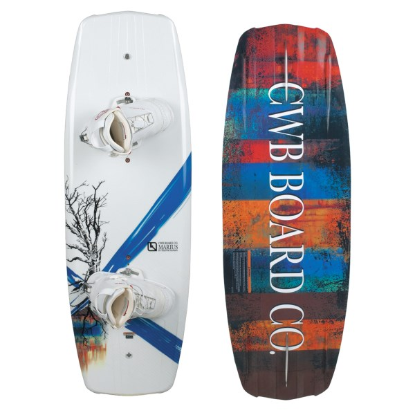 CWB Board Co. Marius Wakeboard with Zeus Bindings