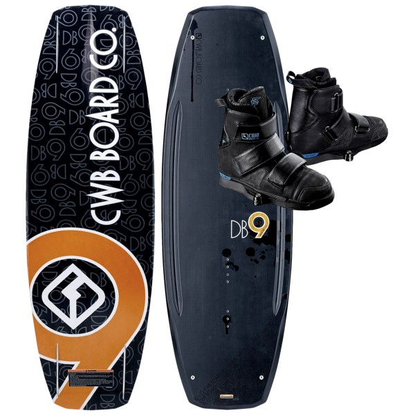 CWB Board Co. DB9 Wakeboard - AA Bindings. List: $999 Deal: $649.95 ($349.05