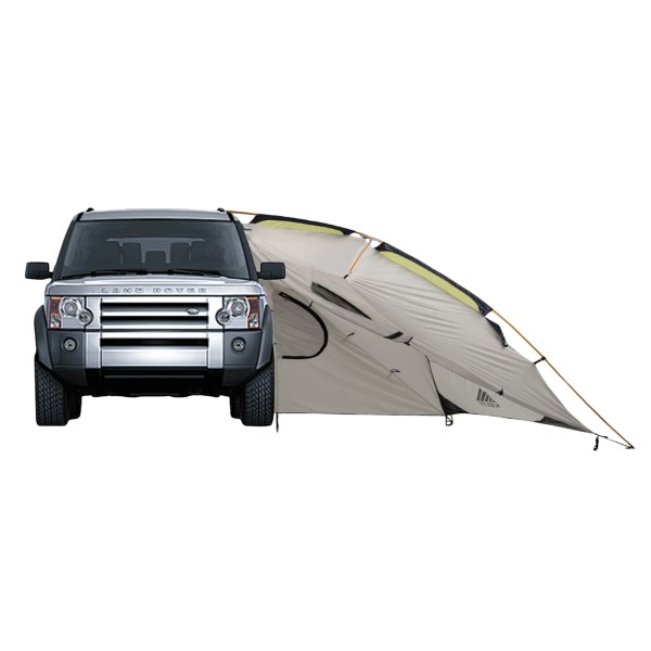 Kelty's Carport Deluxe shelter protects you from wind and rain while you