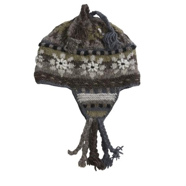 Earflap Wool Cap. Equinox Ear Flap Hat