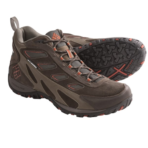 Columbia Sportswear Pathgrinder Mid OutDry (R) Trail Shoes - Waterproof, Suede (For Men)
