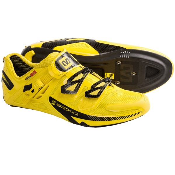 Mavic Zxellium Ultimate Road Cycling Shoes - Carbon SLR Sole, 3-Hole (For Men)