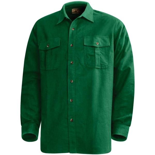 Moose Creek Hike 9 oz. Chamois Shirt - Long Sleeve (For Tall Men)