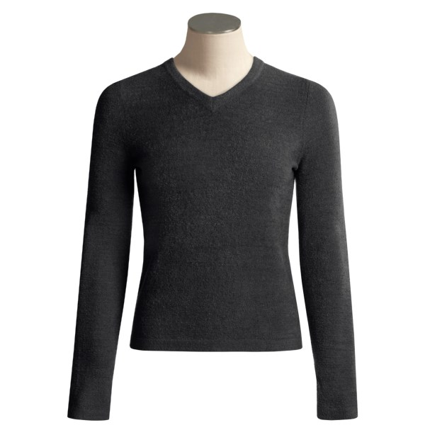 photo: ExOfficio Irresistible V-Neck Sweater