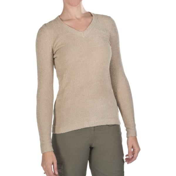 photo: ExOfficio Irresistible V-Neck Sweater