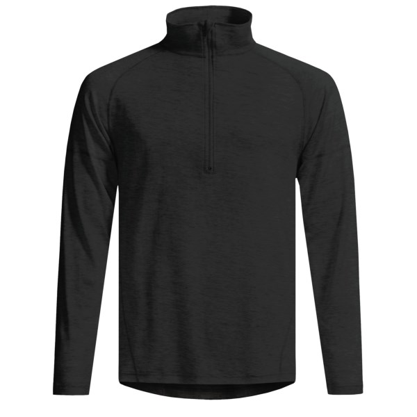 Woolskins By Terramar Long Underwear Shirt - Mock Turtleneck, Long Sleeve (for Men)