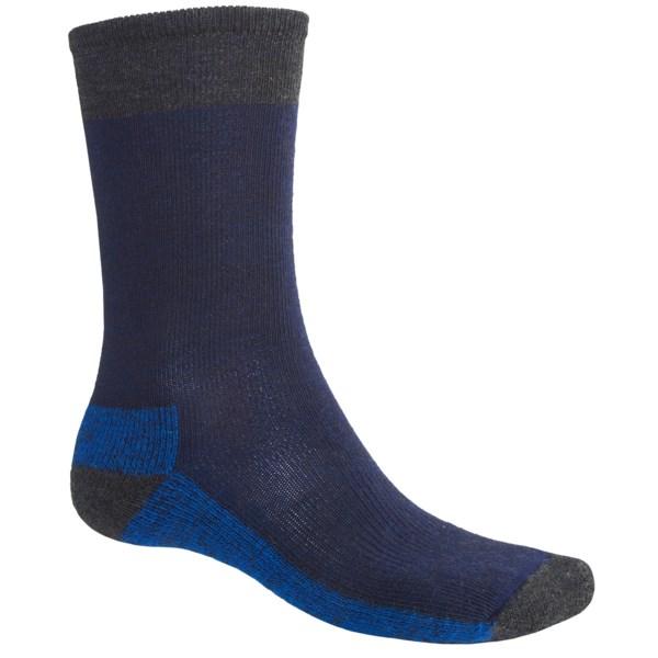 SmartWool Street Hiker Socks   Merino Wool (For Men)   DEEP NAVY HEATHER (L )