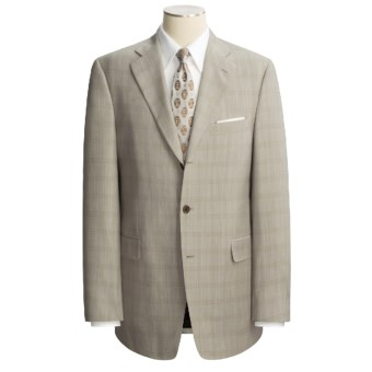 Lux-ID 202421  Arnold Brant Plaid Suit - Wool (For Men)