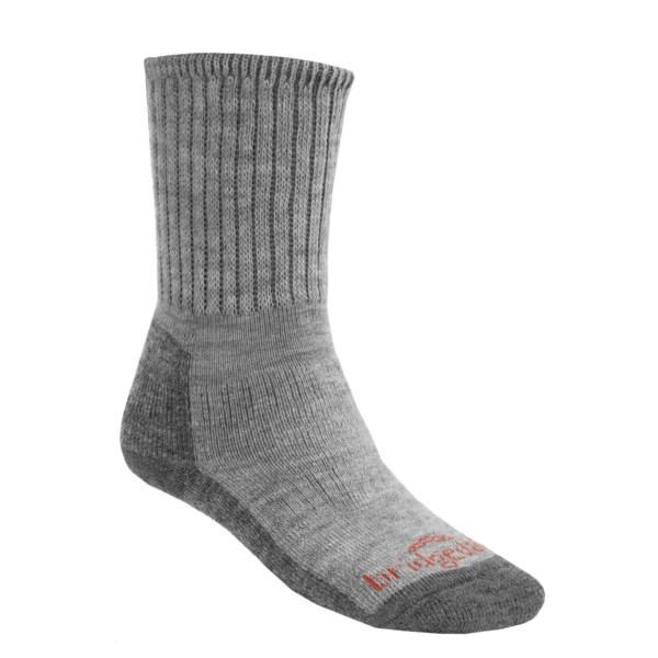 Bridgedale Backpacker Socks   Merino Wool (For Men and Women)   TAN/DARK TAUPE (XS )