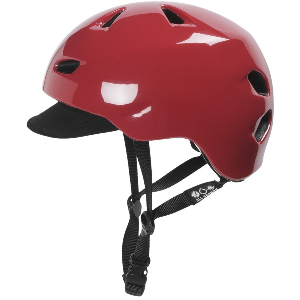 Bern Brentwood Cycling Helmet with Visor (For Men)