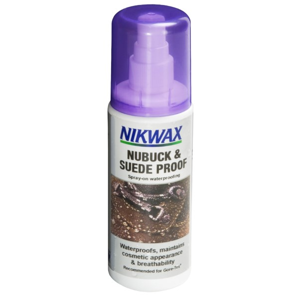 Nikwax Nubuck and Suede Spray-On Waterproofing - 4.2 fl.oz.