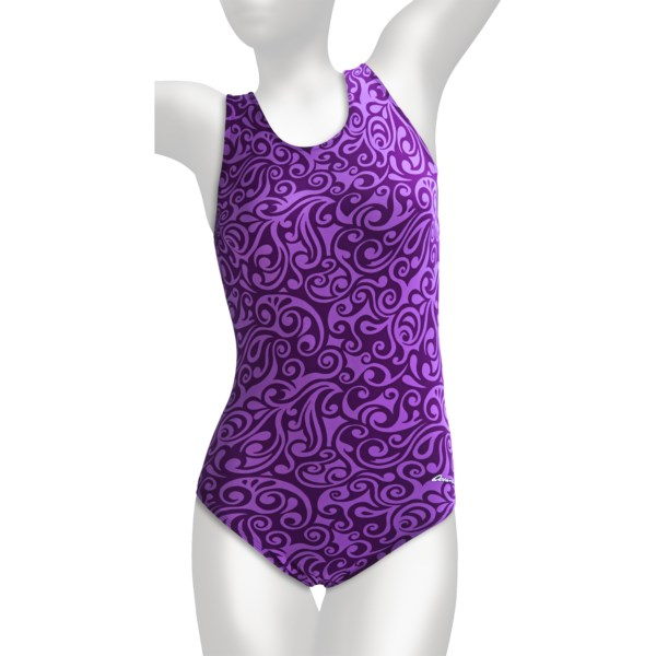 Dolfin Aquashape Moderate Lap Swimsuit - UPF 50  (For Women)
