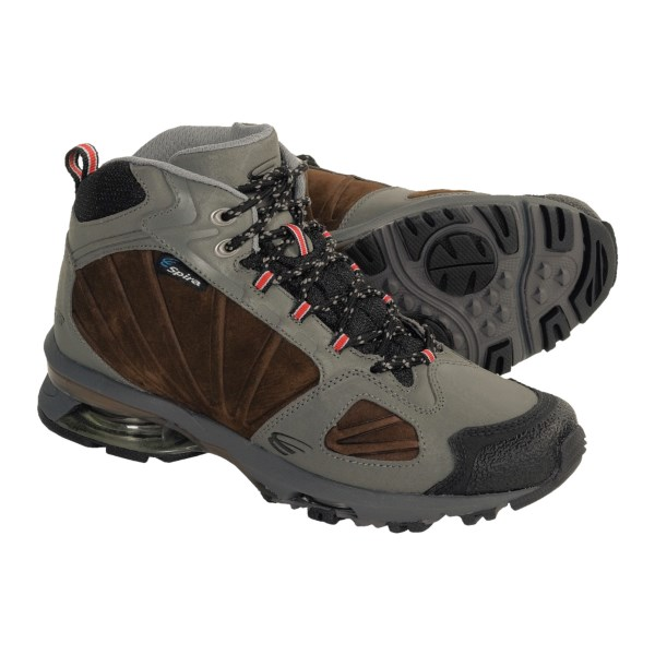 Spira Azimuth Mid Hiking Shoes - Leather (For Men)