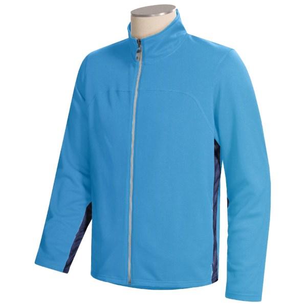 photo of a Alo soft shell jacket