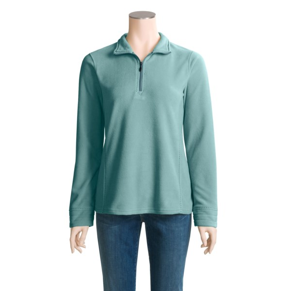 Aventura Clothing Haskell Shirt - Recycled Fleece, Long Sleeve (For Women)