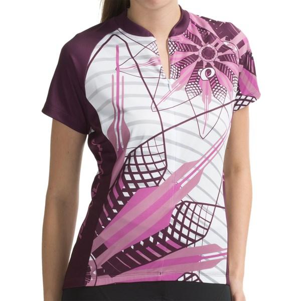 Pearl Izumi Garmin-inspired Cycling Jersey - 3_4-zip, Short Sleeve (for Women)