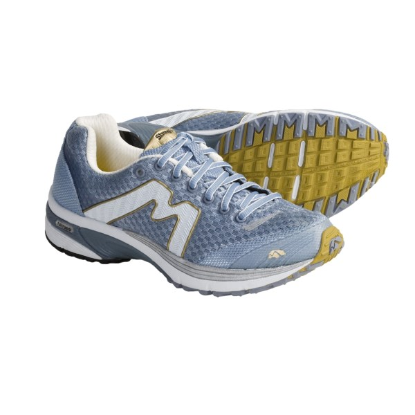 CLOSEOUTS . Karhu's Strong Fulcrum Ride running shoes put fulcrum technology to work, easing pronation and assisting in natural acceleration as you go. Available Colors: DAY YELLOW/SILVER, LADY BLUE/YELLOW, SKY/WHITE. Sizes: 6.5, 7, 7.5, 8, 8.5, 9, 9.5, 10, 10.5, 11, 6.