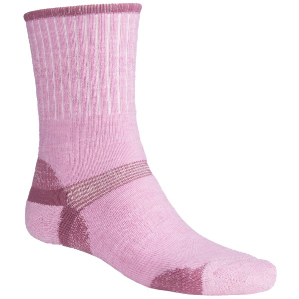 Bridgedale Hiker Socks   Midweight (For Men and Women)   PINK/MAGENTA (S )