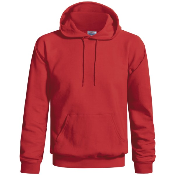 Hanes Cotton-Rich 9 oz Hoodie - No Shrink, Pill Resistant (For Men and Women)
