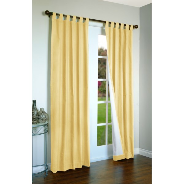 """Thermalogic Weathermate Curtains - 80x95"""", Tab-Top, Insulated"""
