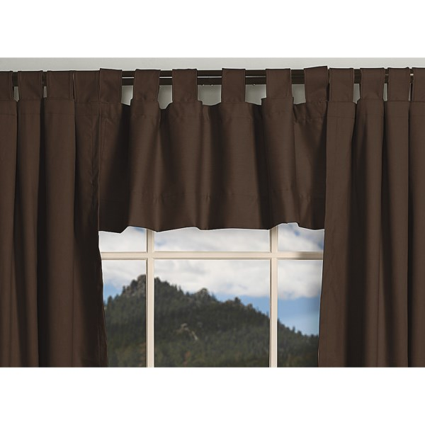 """Thermalogic Weathermate Valance - 40x15"""", Tab-Top, Insulated"""