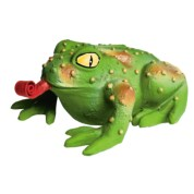 Premier Pet Products Squeeze Meeze Dog Toy - Frog, Latex