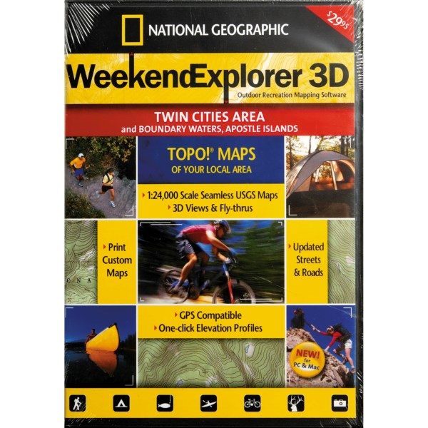 National Geographic Weekend Explorer 3D - Northern California CD-ROM