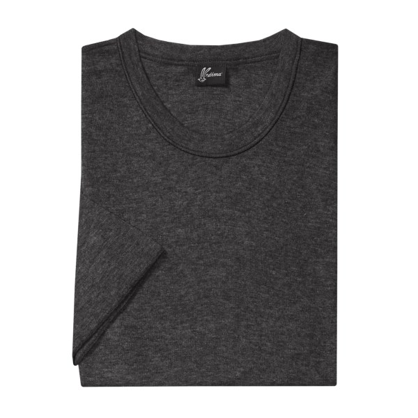 Medima Merino Wool-angora Shirt - Extra Long, Lightweight, Short Sleeve (for Men)