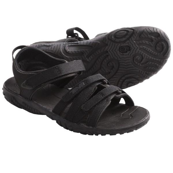 73587abd47cc Teva Tirra Sport Sandals (For Girls) BLACK (10 )