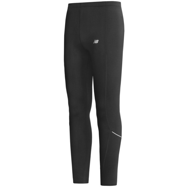 CLOSEOUTS . Made of moisture-wicking Lightning Dryand#174; fabric, New Balance's run tights let your sporty spirit run wild when the seasons change. Available Colors: BLACK. Sizes: S, M, L, XL, 2XL, XXS, XS.