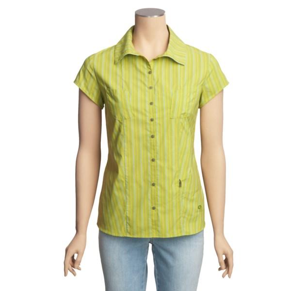 Mountain Hardwear Trailend Stripe Shirt - UPF 50+, Short Sleeve (For Women)