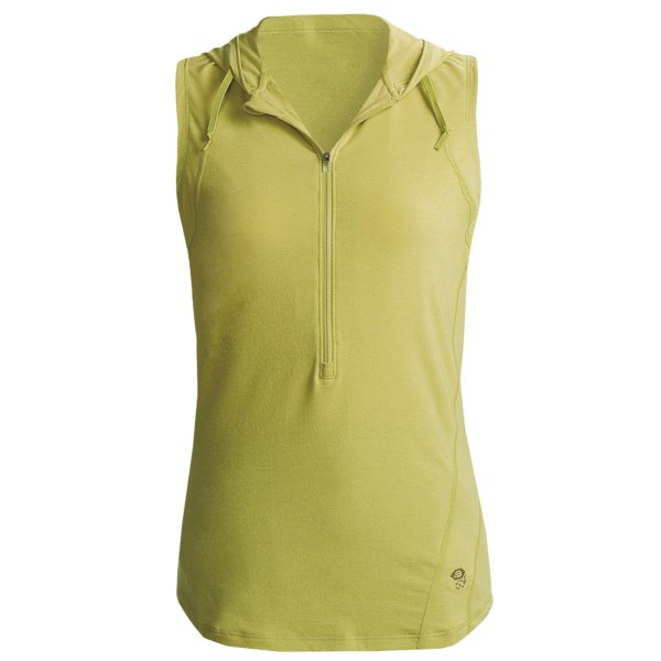Mountain Hardwear Lucania Shirt - Hooded, Sleeveless (For Women)
