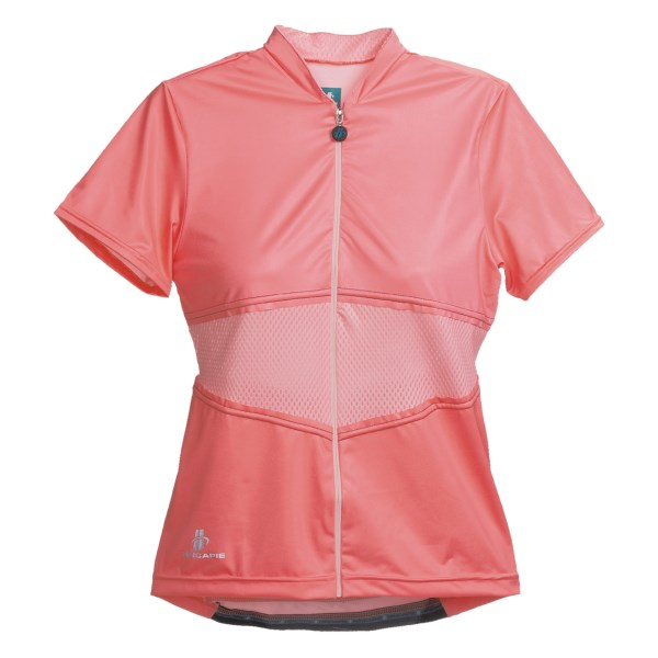 Hincapie Elegante Cycling Jersey - Upf 30 , Short Sleeve (for Women)