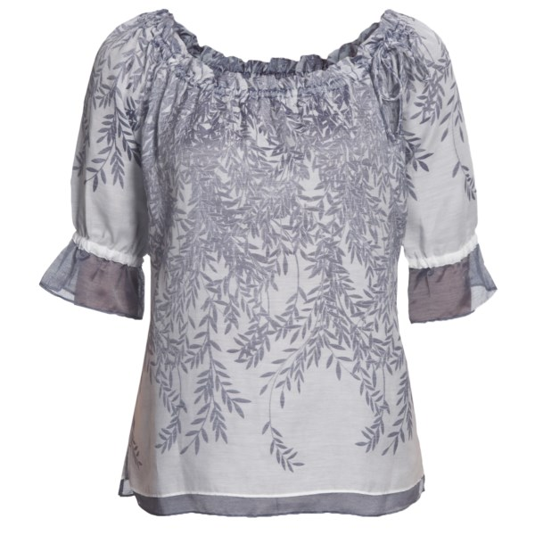 Audrey Talbott Parker Double-Layer Tunic Shirt - 3/4 Sleeve (For Women)