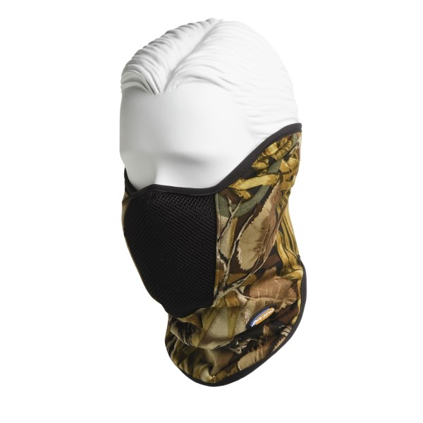 photo of a PolarWrap balaclava