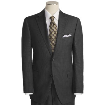 Lux-ID 202460  Jack Victor Tic Weave Suit - Wool (For Men)