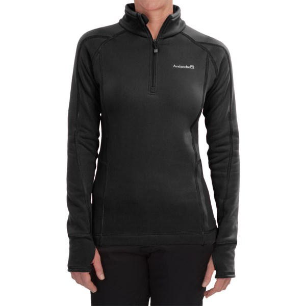 Avalanche Wear Fleece Mogul Shirt - Zip Neck, Long Sleeve (For Women)
