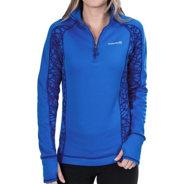 Avalanche Wear Fleece Mogul Shirt - Zip Neck, Long Sleeve (For Women)