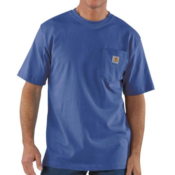 Carhartt Work Wear T-Shirt - Short Sleeve (For Tall Men)
