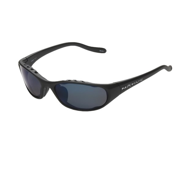 a16002568a45 Native Eyewear Tare sunglasses feature interchangeable lenses for versatile  sport performance. Utilize the polarized set to manage glare while fishing  or ...