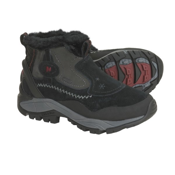 Pics of Merrell Sleet Leather 6 - Boots Waterproof (For Women)