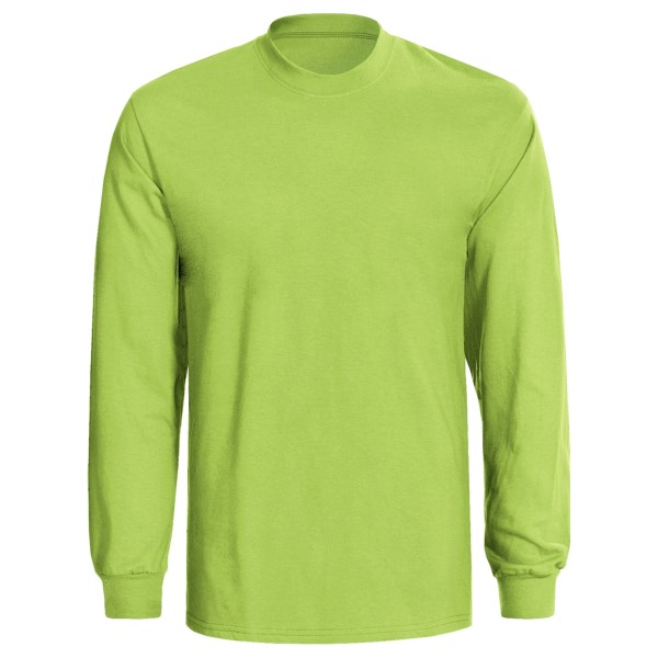 Hanes Authentic Open End T-Shirt -  Tagless, Long Sleeve (For Men and Women)