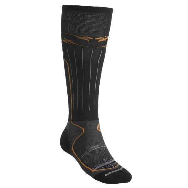 Lorpen Lightweight Snowboard Socks Merino Wool Over-the-Calf