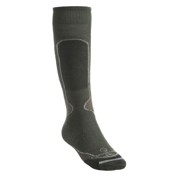 photo: Lorpen Medium Weight Ski Socks Over-the-Calf