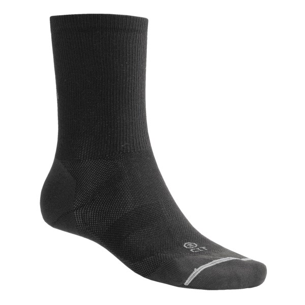 Lorpen Thermolite(R) Liner Socks   2 Pack  Height (For Men and Women)   BLACK (S )